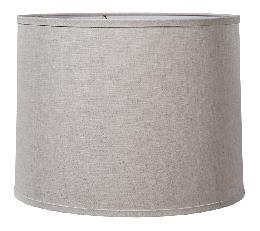 Deep Retro Drum Hardback Shade - Fine Linen
