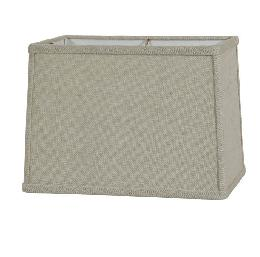Driftwood Burlap Rectangle Hardback Lampshades