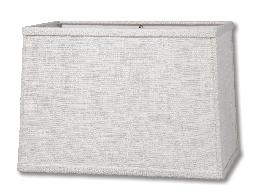 Sand Heavy Textured Linen Rectangle Hardback Shades