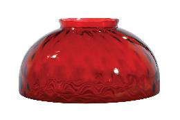 "14"" Ruby Dot Optic Dome Shade"