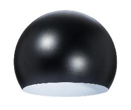 "8"" Dia. Satin Black Eyeball Lamp Shade - Steel"