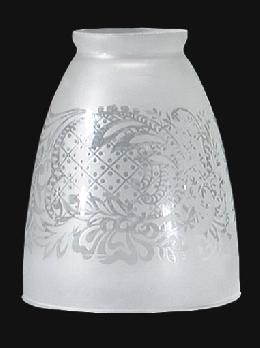 Satin Etched Fixture Shade
