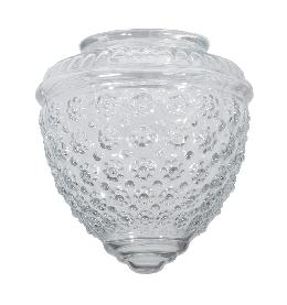 "5 1/2"" Clear Pineapple Fixture Shade"