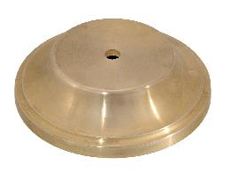 "Die Cast Brass Base, 5 1/2"" dia."