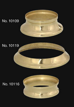 Brass Connectors for Lamp Bases & Fonts