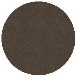 Round, Adhesive Backed Brown Felt