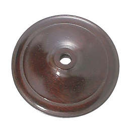 Quality Wooden Vase Caps, Rosewood Finish