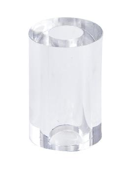 "15/16"" X 1.5"" Ht. Cylinder-Shaped Acrylic Lamp Break"