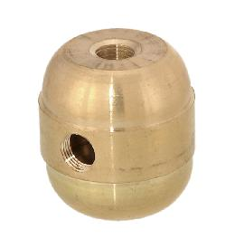 "1 9/16"" Ht., Brass Cluster Body with 1/4F Bottom Hole"