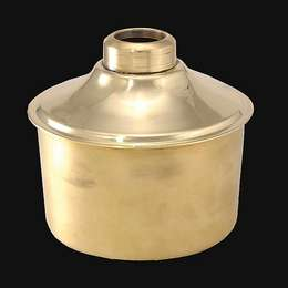 Solid Brass Oil Tank