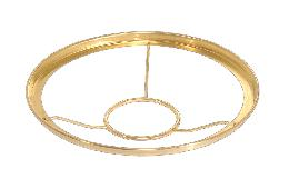 "10"" Solid Brass Shade Ring-Type Shade Holder"