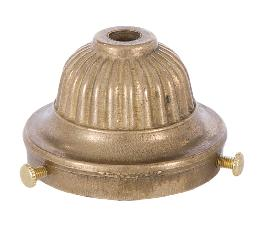 2 1/4 Inch Cast Brass UNO Shade Holder