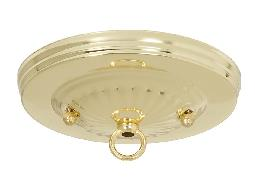 "Brass Plated Steel Canopy Kit, 5 1/4"" dia."