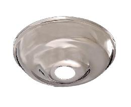 "Nickel Plated 5 1/2"" Diameter Canopy"