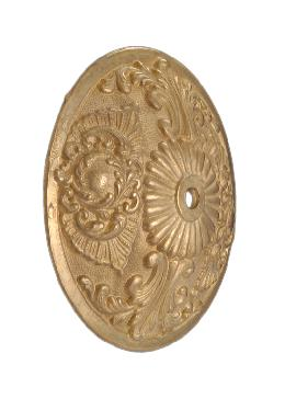 Decorative Die Cast Brass Back Plate
