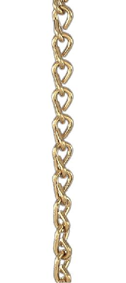 #16 Brass Double Jack Chain