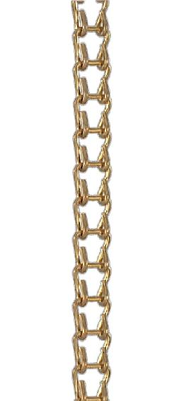 #18 Brass Ladder Chain