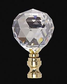 "2 5/8"" Lead Crystal Finial"