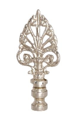 "3 3/8"" Cast Metal Finial"