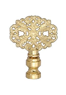 "2 3/8"" Die Cast Brass Finial"