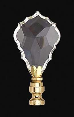 "2 7/8"" Crystal Finial"