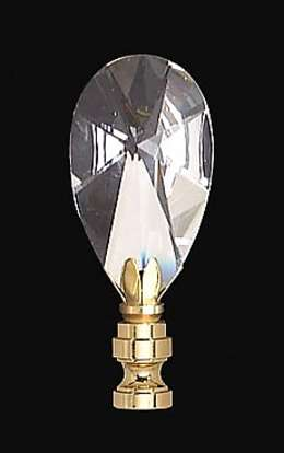 "2 3/4"" Crystal Finial"