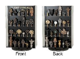 Double-sided Finial Display - 48 finials