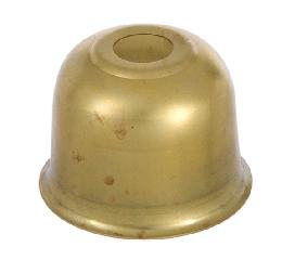 1 1/16 Inch Stamped Brass Candle Cup