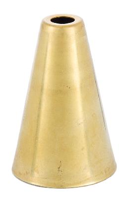 Cone Shaped Stamped Brass Socket Cup
