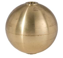 3 Inch Hollow Brass Ball