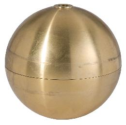 Large Hollow Brass Ball