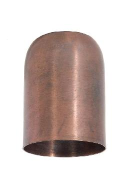 "2.46"" Tall Unfinished Steel Lamp Socket Cup, 1/8IP"