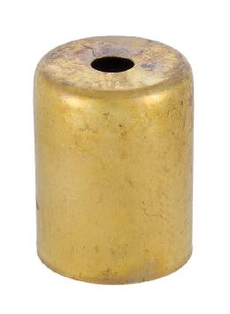 2 1/8 Inch Brass Lamp Socket Cup