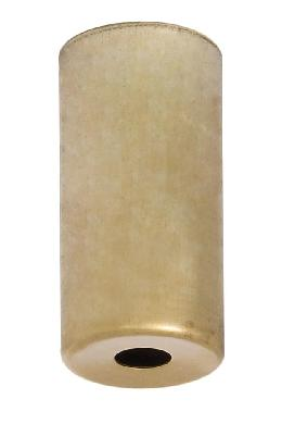 "2-3/8"" Tall Unfinished Brass Socket Cup, E-12"
