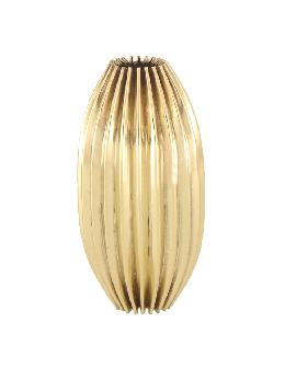 "Reeded Brass Break, 2 3/4"" ht."