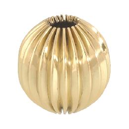 Round Reeded Brass Break
