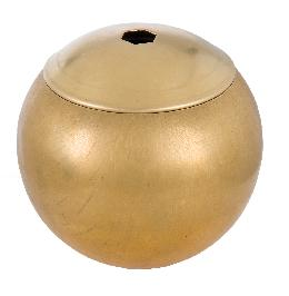 3 Inch Hollow Brass Ball with Lid