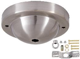 Satin Nickel Canopy & hardware kit with matching finish
