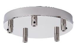 5-Port Canopy Kit with Nickel Plated Finish