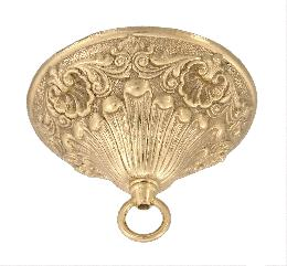 Large Victorian Style Canopy With Heavy Brass Loop