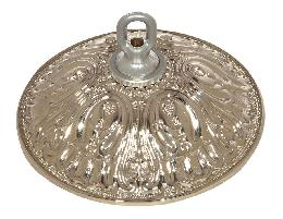 "5 1/2"" Acanthus Leaf Brass Ceiling Canopies"