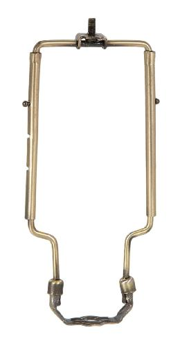 Adjustable Lamp Harp, Antique Brass Finish, Heavy Duty