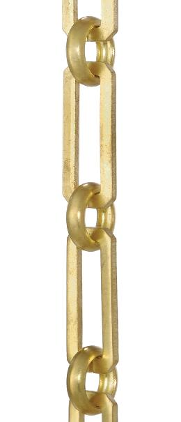 Hand Made Solid Brass Rectangular-shape Chain