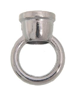 "1 3/8"" ht. Zinc Loop w/Nickel Plated Finish"