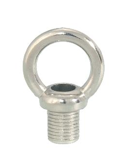"1 1/4"" ht. Zinc Loop w/Nickel Plated Finish"