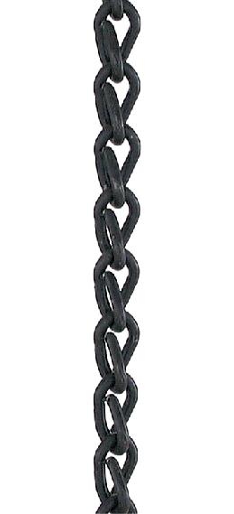 #16 Black Oxide Steel, Double Jack Chain