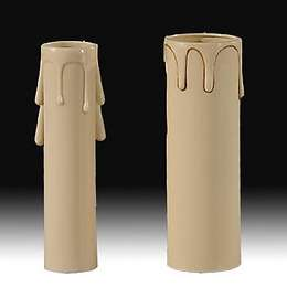 "4"" Beige Color Candle Covers"