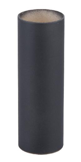Standard Size Flat Black Paper Candle Cover