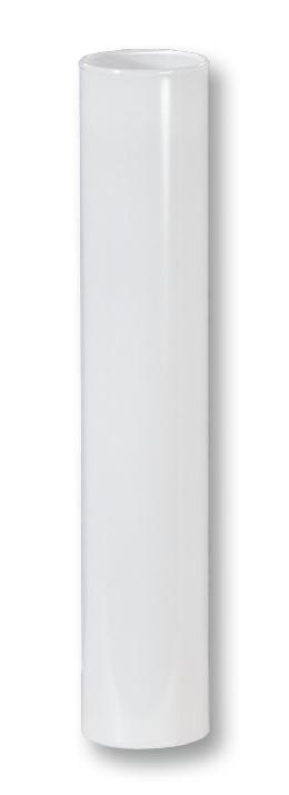 "6"" White Glass E14 Candle Cover - EURO Size"