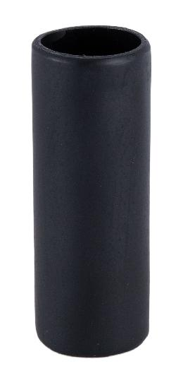 Standard Size Flat Black Polyresin Candle Cover